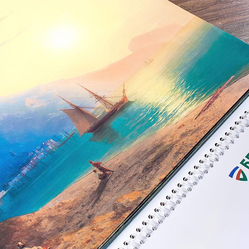 Календарь «Море. Корабли»