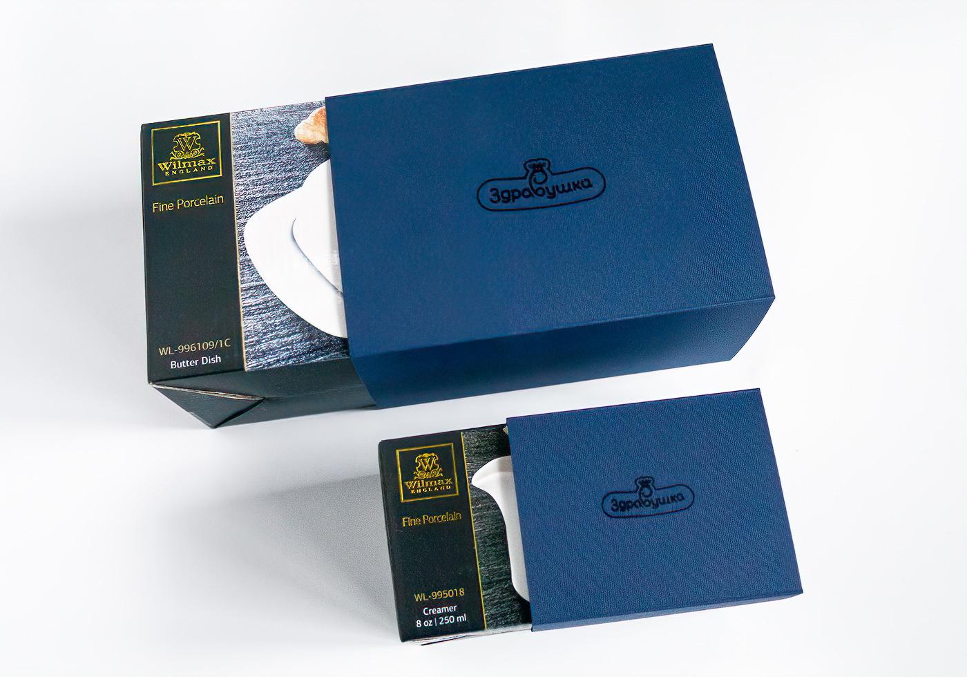 Здравушка-милк - Формирование и упаковка для VIP-подарков